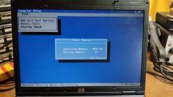 Laptop HP Compaq 6910p bootuje długo, albo wcale.