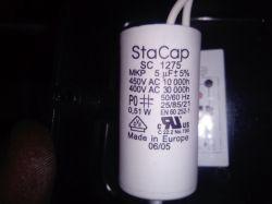 avt1613 - sterowanie obrotami wentylatora z kondensatorem rozruchowym.