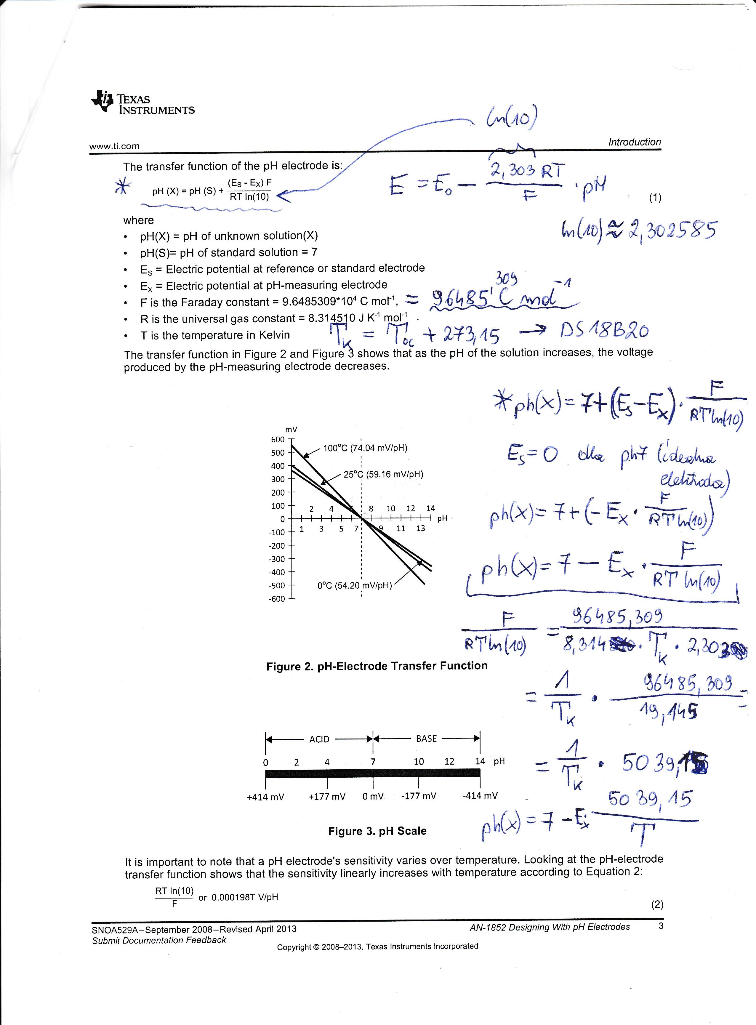 Kalibracja pHmetru buforami i liczenie w�a�ciwej warto�ci