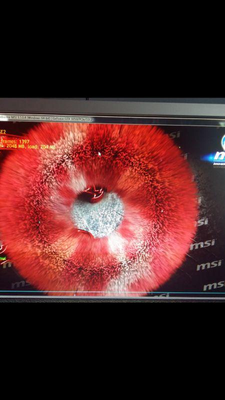 Gtx 1050 gaming x wyświetla artefakty!Temat zamknięty