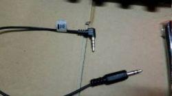 Podłączenie mikrofony ECM AW3 do kamery CANON - uszkodzony kabel.