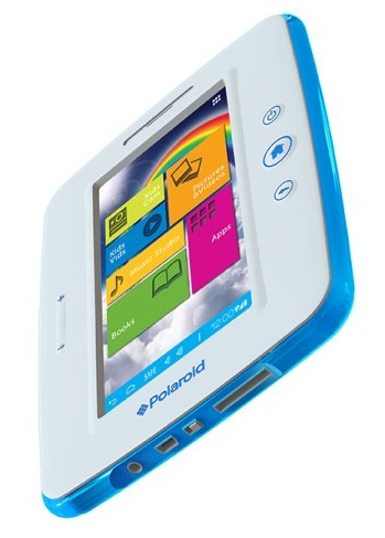 "POLAROID KIDS TABLET PTAB750 - ods�ona 7"" tabletu dzieci�cego"