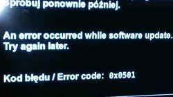 Sagemcom/DSIW74 - Resetuje się. Brak możliwości aktualizacji.