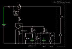 Równoległe tranzystory NPN - negatywny prąd kolektora