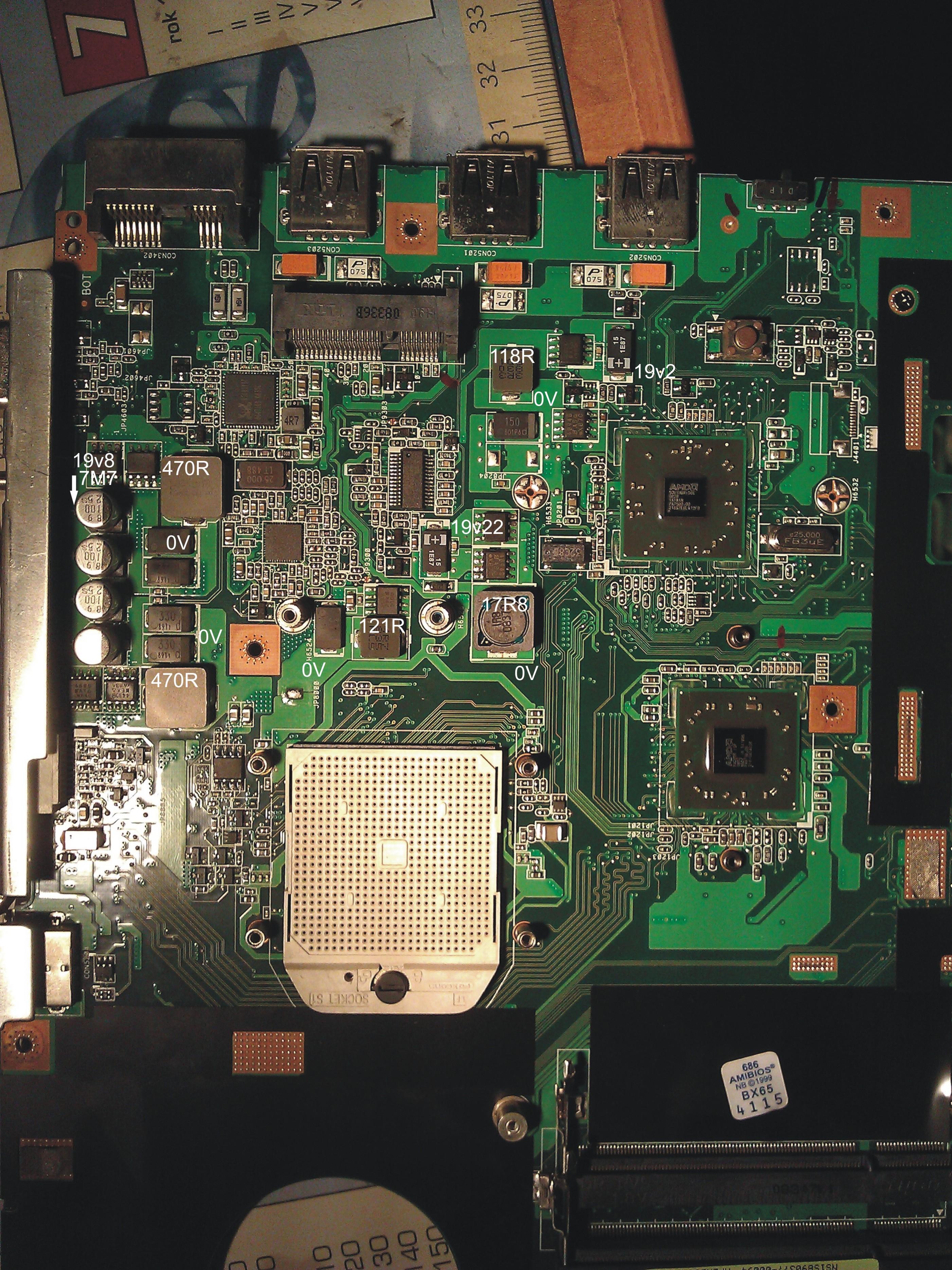Asus X50Z - Nie w��cza si�, brak reakcji.