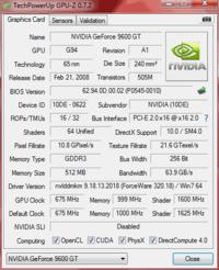 Galaxy Geforce 9600gt 512mb DDR3 - nagrzewa si�.