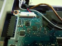 Samsung R522 - Brak obrazu na matrycy laptopa - wymiana gniazda LCD.