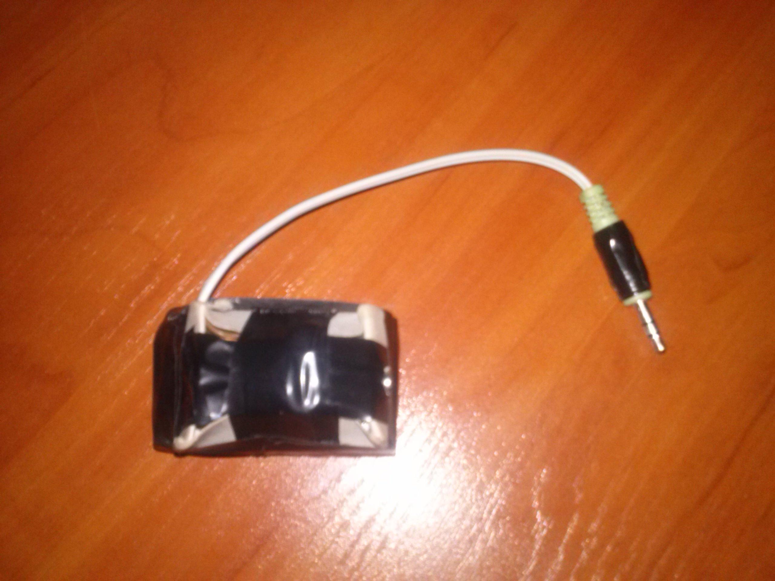 Wzmacniacz s�uchawkowy stereo na TDA2822M.