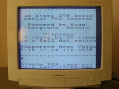 Prosty generator VGA i Composite Video na Atmedze