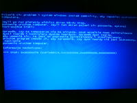 Gateway C-LU.WCX0B.006 win xp blue screen