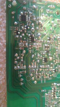 Uszkodzona płyta indukcyjna Whirlpool ACM848/BA