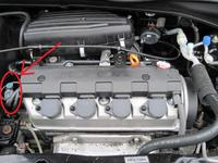 Honda Civic gen. VII- Check Engine- nie odpala