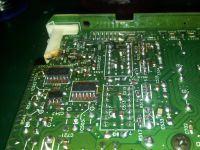 Technics SE-CA01 - Naprawa końcówki mocy.