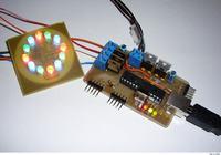 Mieszanie świateł LED z obsługą USB