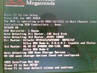 ASUS G1S - komunikat: CMOS Date / Time not Set