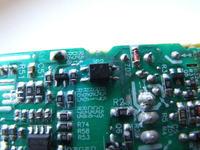 Toshiba model ADP-75SB OUT-19V/3,95A uszkodzony układ scalony DAP6A