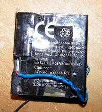 Szukam akumulatora do odbiornika 2.4Ghz o napieciu 4 V