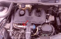 Peugeot 206 1.9d traci moc i dymi