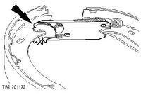 FORD KA - Hamulec ręczny regulacja, jedno koło hamuje bardziej