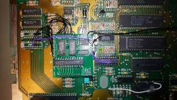 Rozszerzenie pamięci w Atari 65XE (1MB SimmEXP)