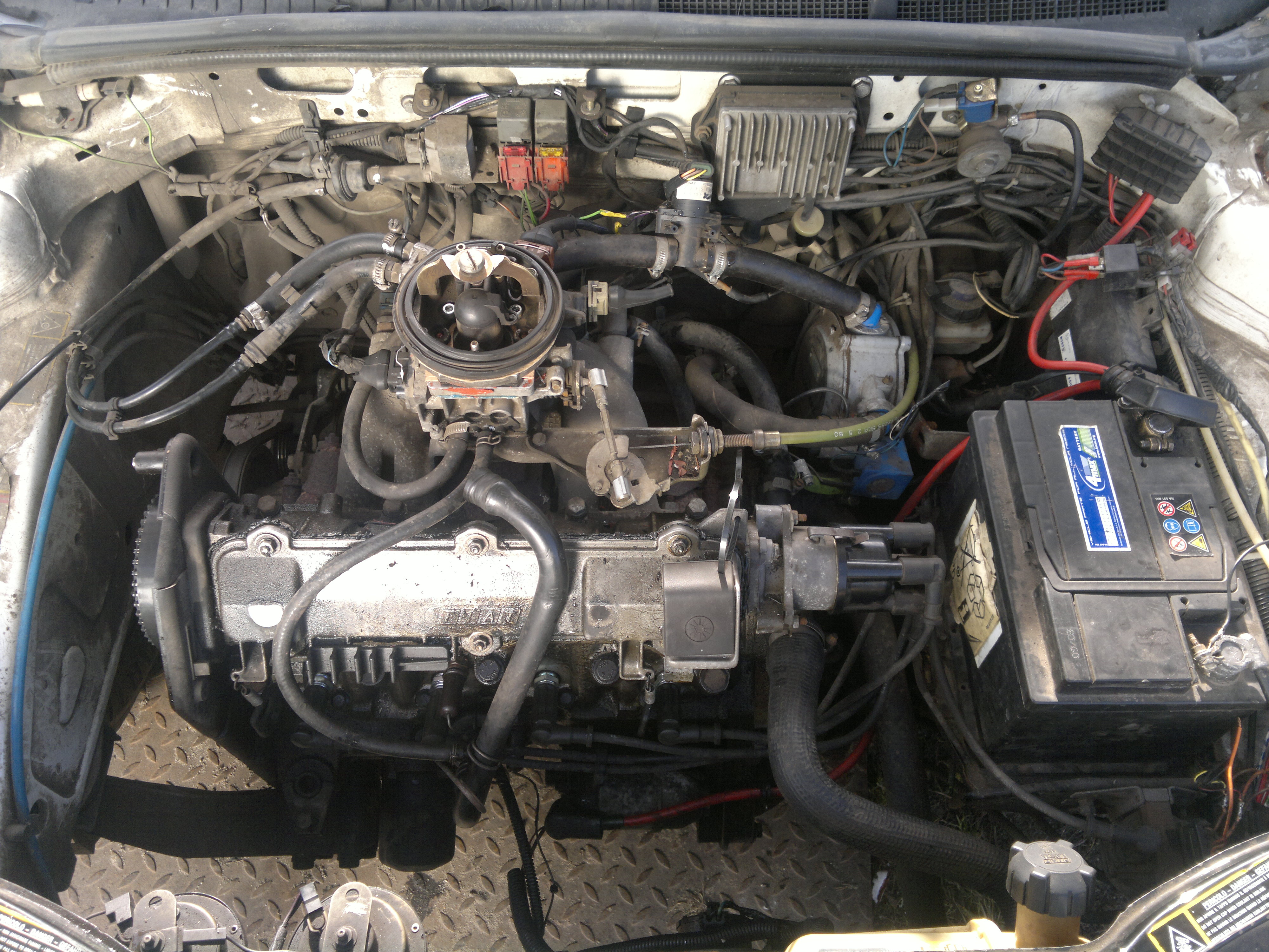 Fiat Tipo 1,4 AGT cat.i.e LPG - nie odpala na Pb