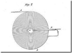 Cewka Tesli, umie ktoś obliczyć jej parametry? patent 512340