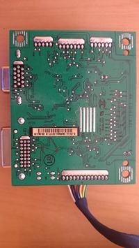 Monitor LCD Philips 192E - nie włącza się, prawdopodobnie po burzy