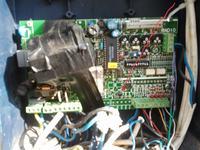 Napęd bramy NICE A6-A6F, nie działa sygnalizacja zamykania i otwierania