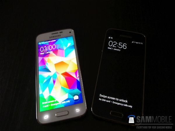 Samsung Galaxy S5 Mini - 4.5-calowy smartfon z procesorem Samsung Exynos 3 Quad.