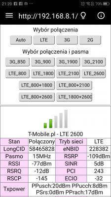 Jaka antena zewnętrzna do modemu/routera Huawei E5573 LTE