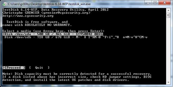 HDD WD 500GB - jak odzyskac dane...