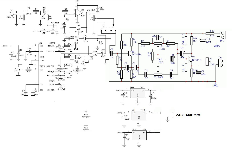 Proszę O Sprawdzenie Schematu Przedwzmacniacz Echo Echo 1 416 Parts Diagram  Sadelta Echo Master Wiring Diagram