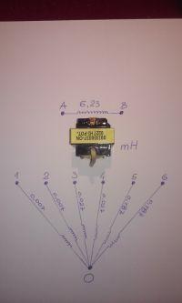 09I330037-ON - Transformator z zasilacz ATX- wyprowadzenia.