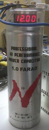 Kondensator CarAudio 1F 20/24V mit, czy też prawda ??