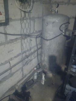 Pompa się zapowietrza- hydrofor