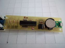Zegarek z wyświetlaczem led 32x8.