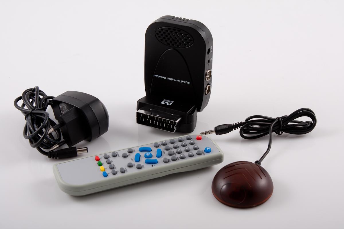 tuner DVB-t MPEG-2 do naziemnej telewizji cyfrowej