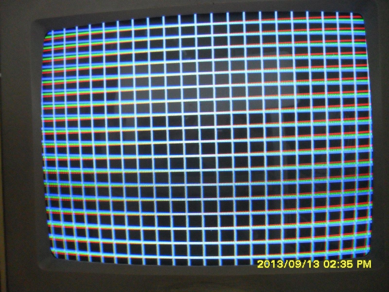 Commodore 1802 - Zw�ony obraz ku g�rze