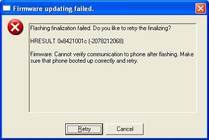 Nokia E52 - Nie w��cza si� po wgraniu danych na kart� pami�ci