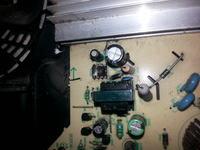 Płyta indukcyjna Zelmer 41Z012 uszkodzony IC102