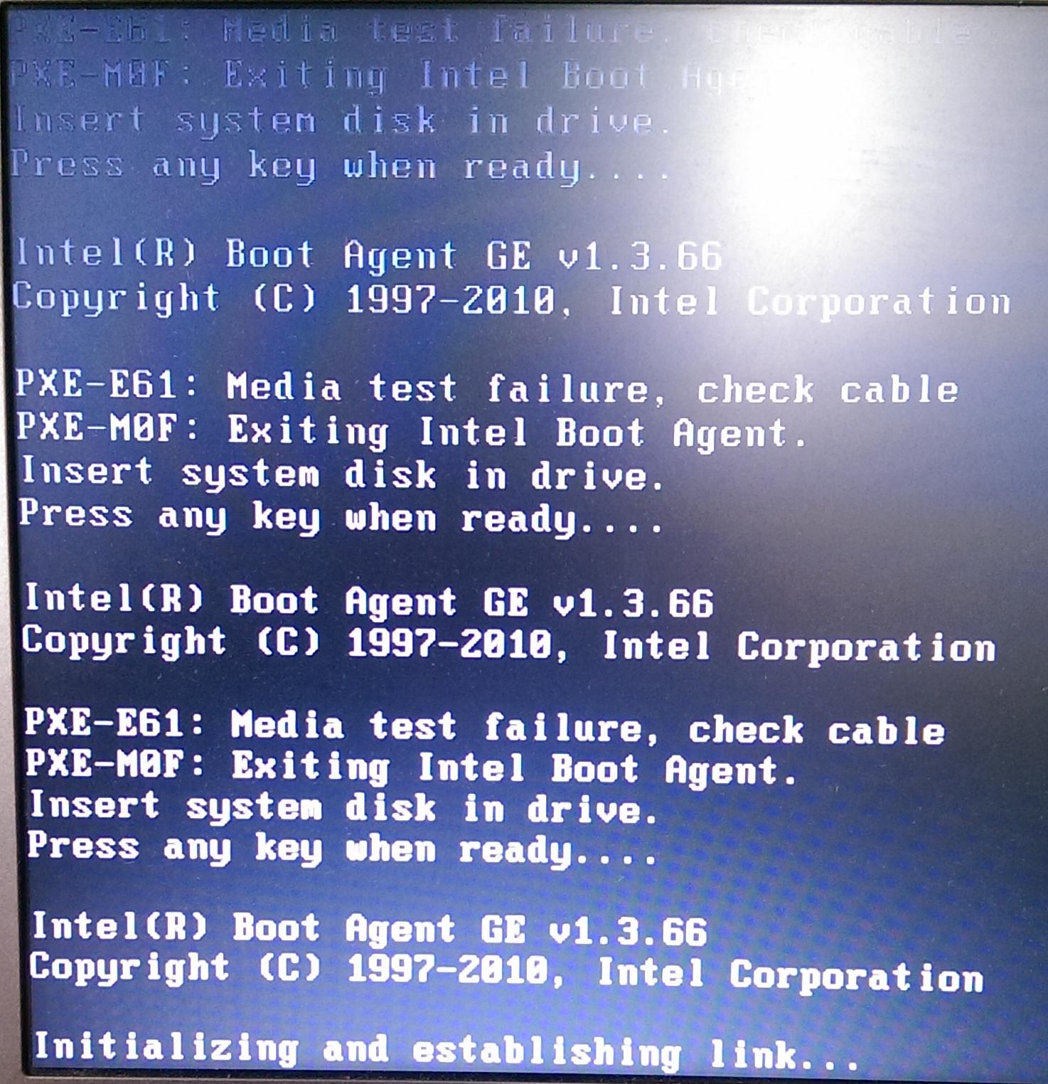 TOSHIBA Portege Z830 - Intel Boot Agent GE - elektroda pl