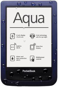 "PocketBook Aqua - wodoodporny czytnik z 6"" ekranem E Ink Pearl"