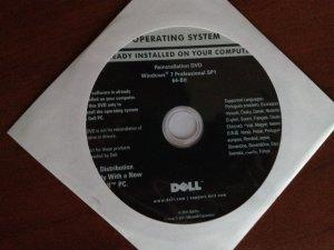 Dell Latitude E6510 - p�yta reinstalacyjna windows 7