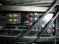 SC-CH730 - Podłączenie dekodera do wieży