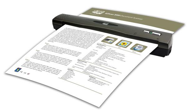 Adesso EZScan 2000 - mobilny skaner dokument�w
