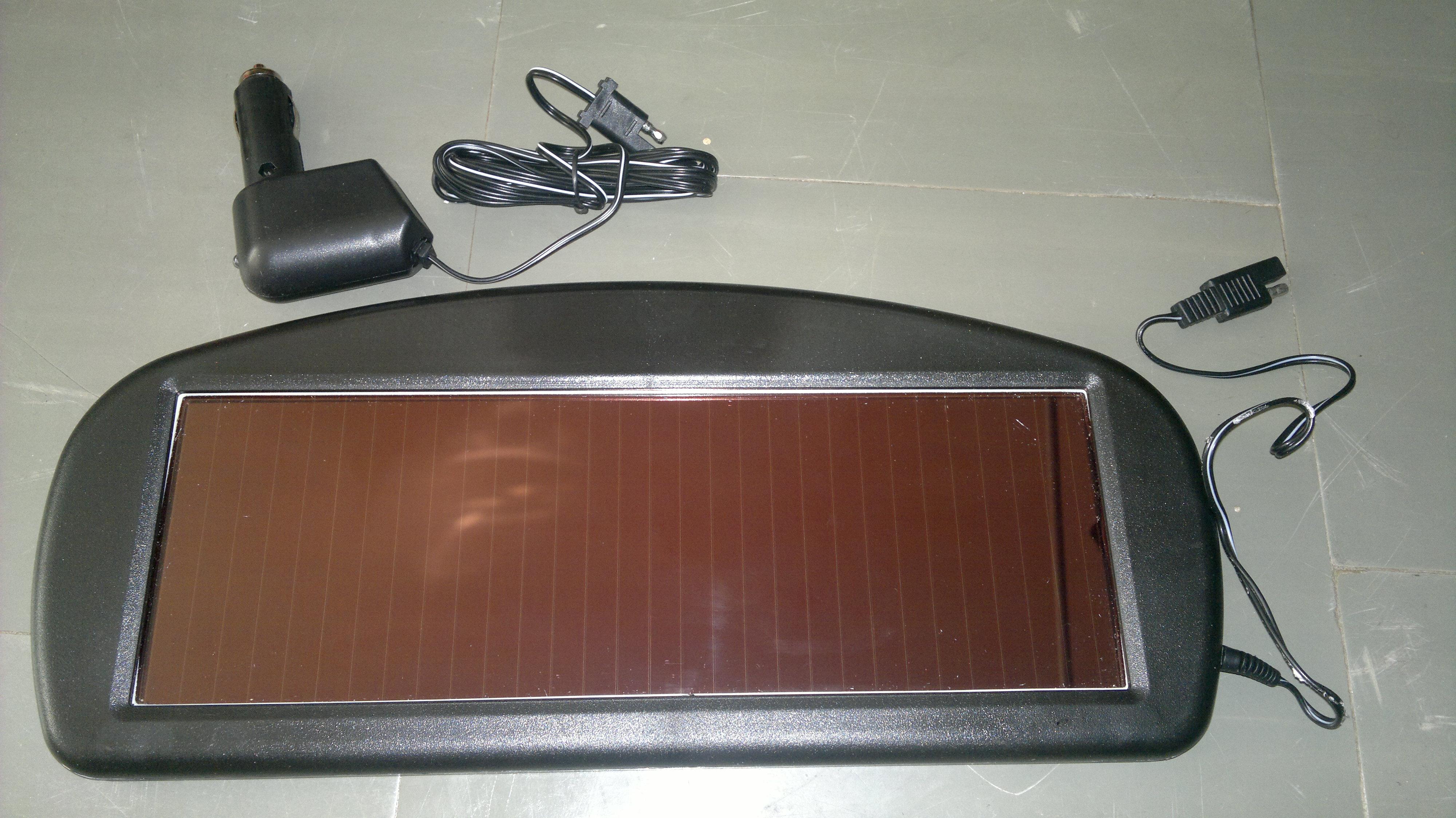 Bateria S�oneczna - Jak pod��czy� baterie s�on�czn� pod przetwornic�?