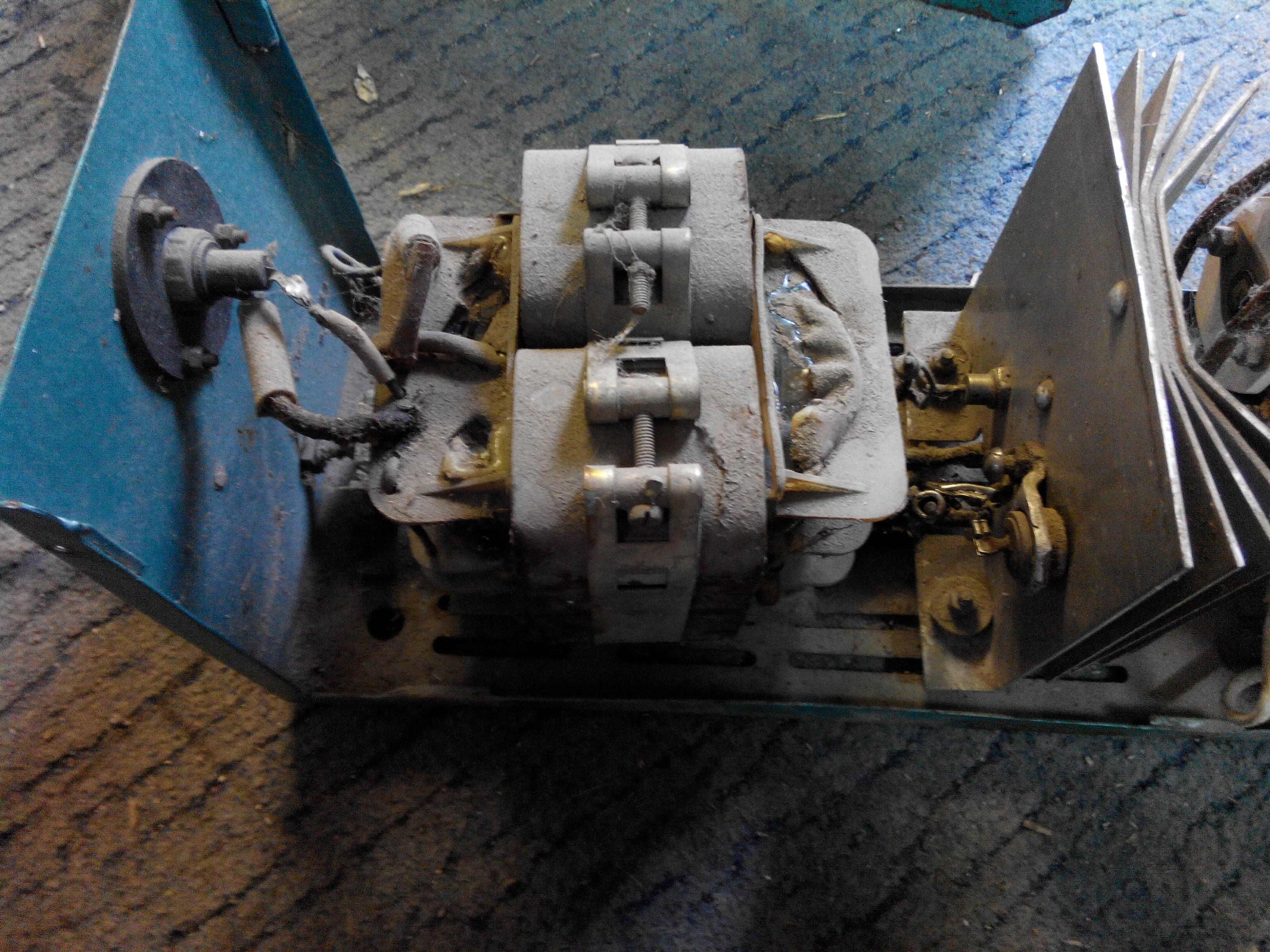 Transformator na prostownik samochodowy