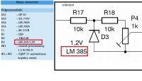 Zamienniki diody zenera - Nie mogę znaleźć diody zenera o napięciu 1,2v
