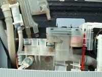 Bosch/SRS55M78EU - pobiera wodę, wylewa świeci kranik i łyżeczka pod obudową!
