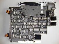 Chevrolet - czujnik temperatury oleju w automatycznej skrzyni biegow, gdzie ?